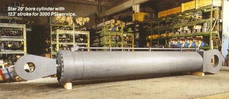 (3) hydraulic cylinder 3